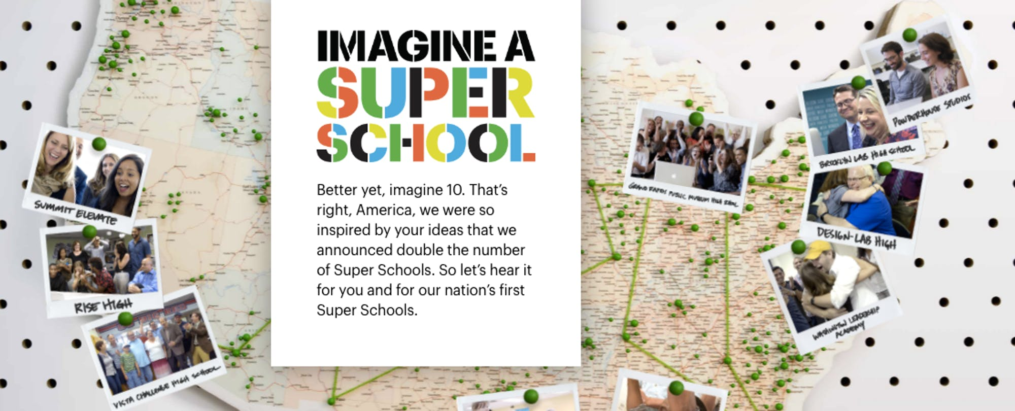 XQ Institute Announces 10 Winners of 'Super Schools' Competition