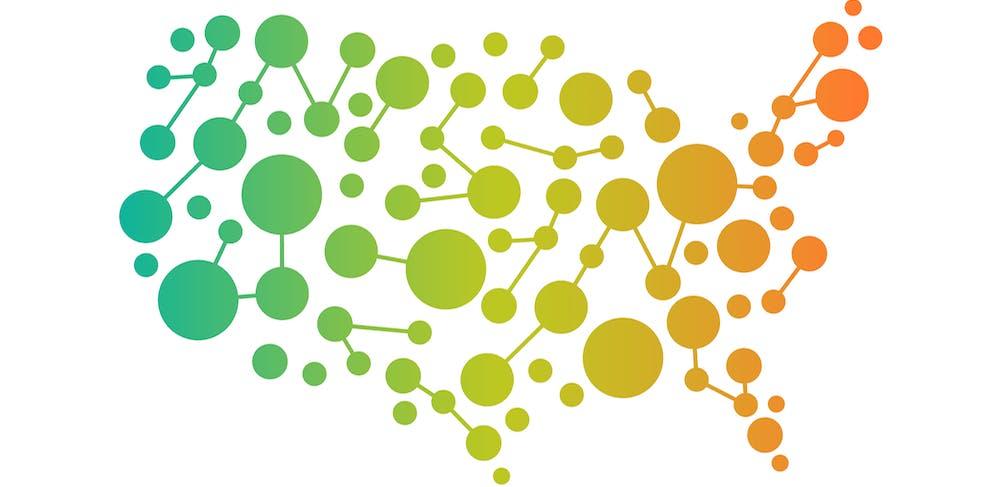 connect the dots how michigan arizona and portland make data