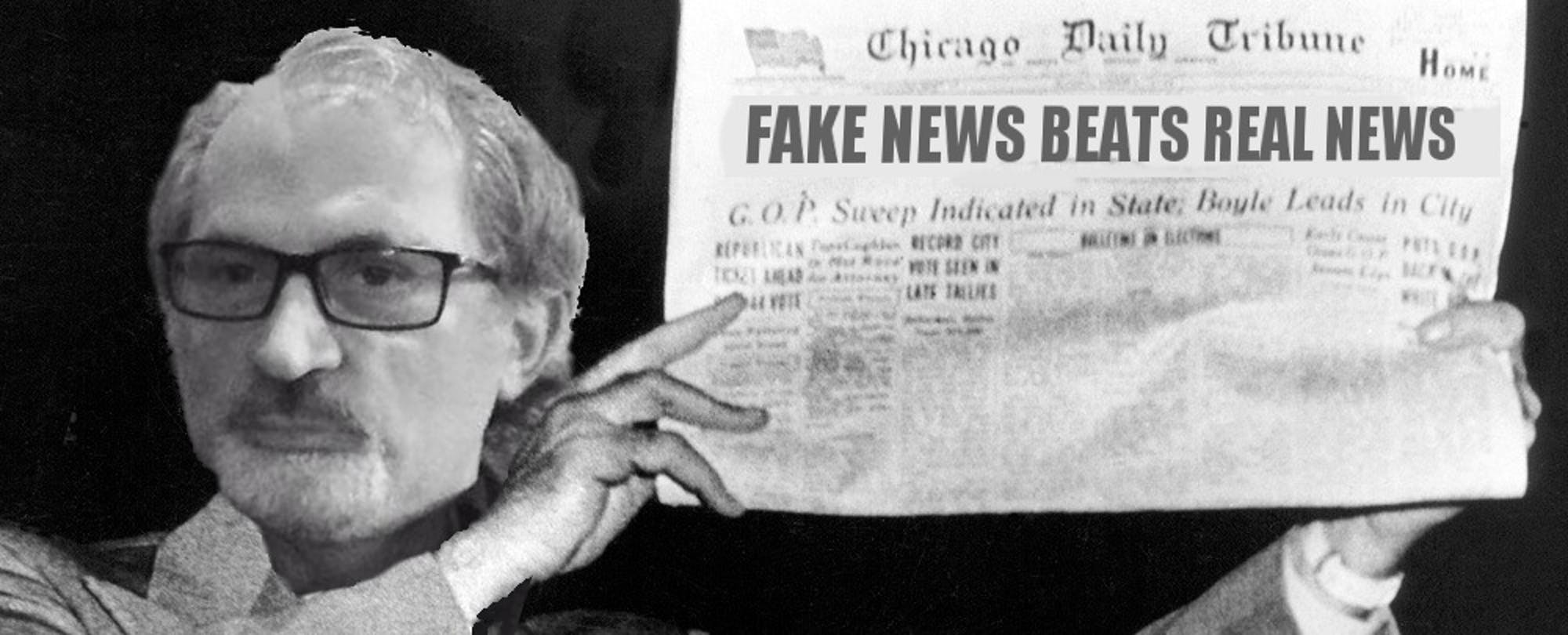 Teaching 'Truthiness': Professors Offer Course On How to Write Fake News