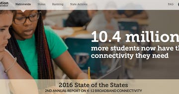 ​34.9M US Students—88 Percent of School Districts—Now Connected Online