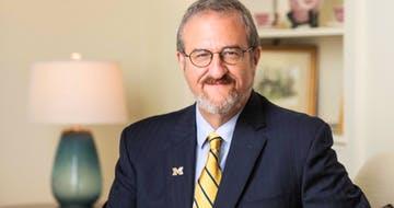 Why U. of Michigan's President Says Universities Should Work to Transform Teaching