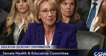 Senate Committee Votes to Move Betsy DeVos Nomination Forward