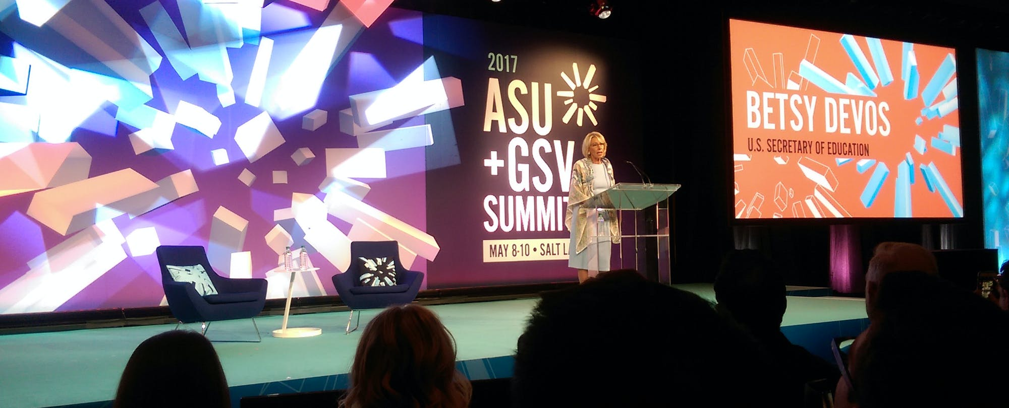 What Betsy DeVos Offered (or Didn't) During Her ASU+GSV Summit Keynote