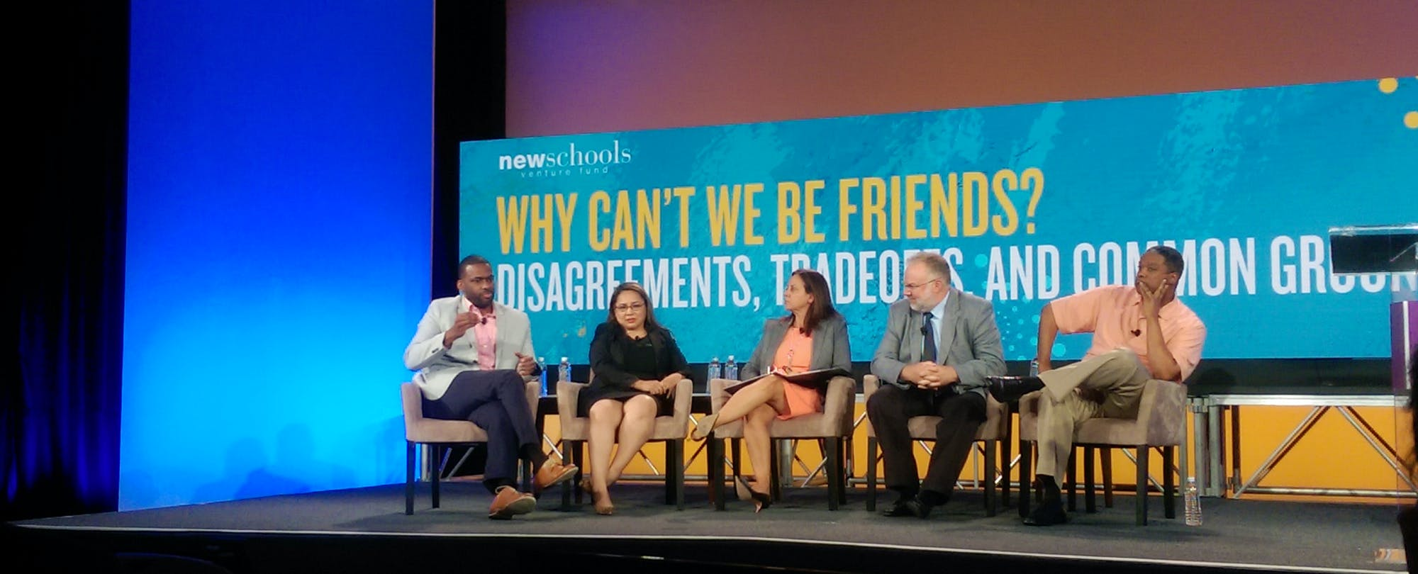Why Can't We Be Friends? NewSchools Re-Stirs Debate on Race and Equity in Education Reform