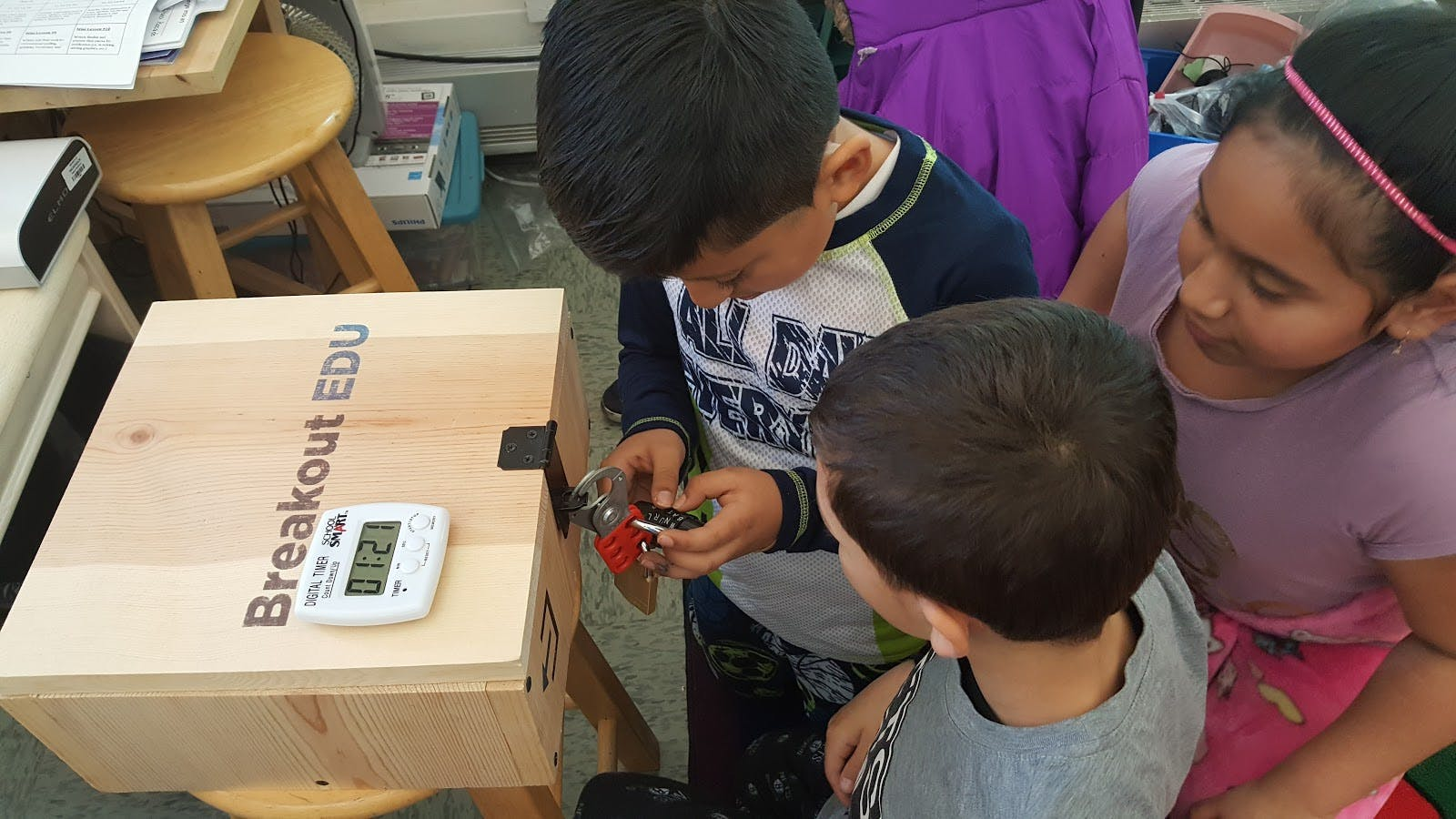 To Build Teamwork, Breakout EDU Challenges Students to Think Out of the Box