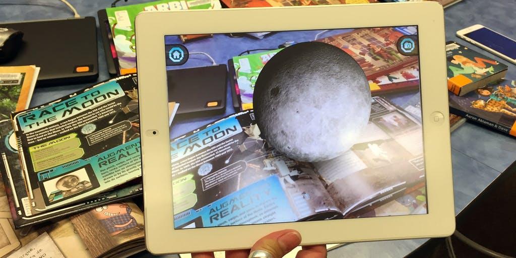 An Augmented Reality Library Comes to Life for Aspiring Teachers at UT San  Antonio   EdSurge News