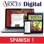 Spanish Voces eTextbook