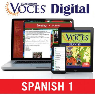 Spanish Voces eTextbook
