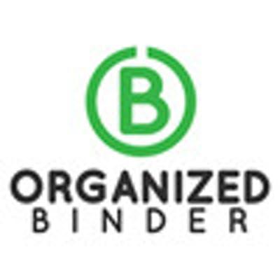 Organized Binder